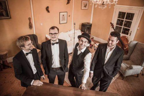 Die All Jazz Ambassadors, ihre Jazzband aus Graz