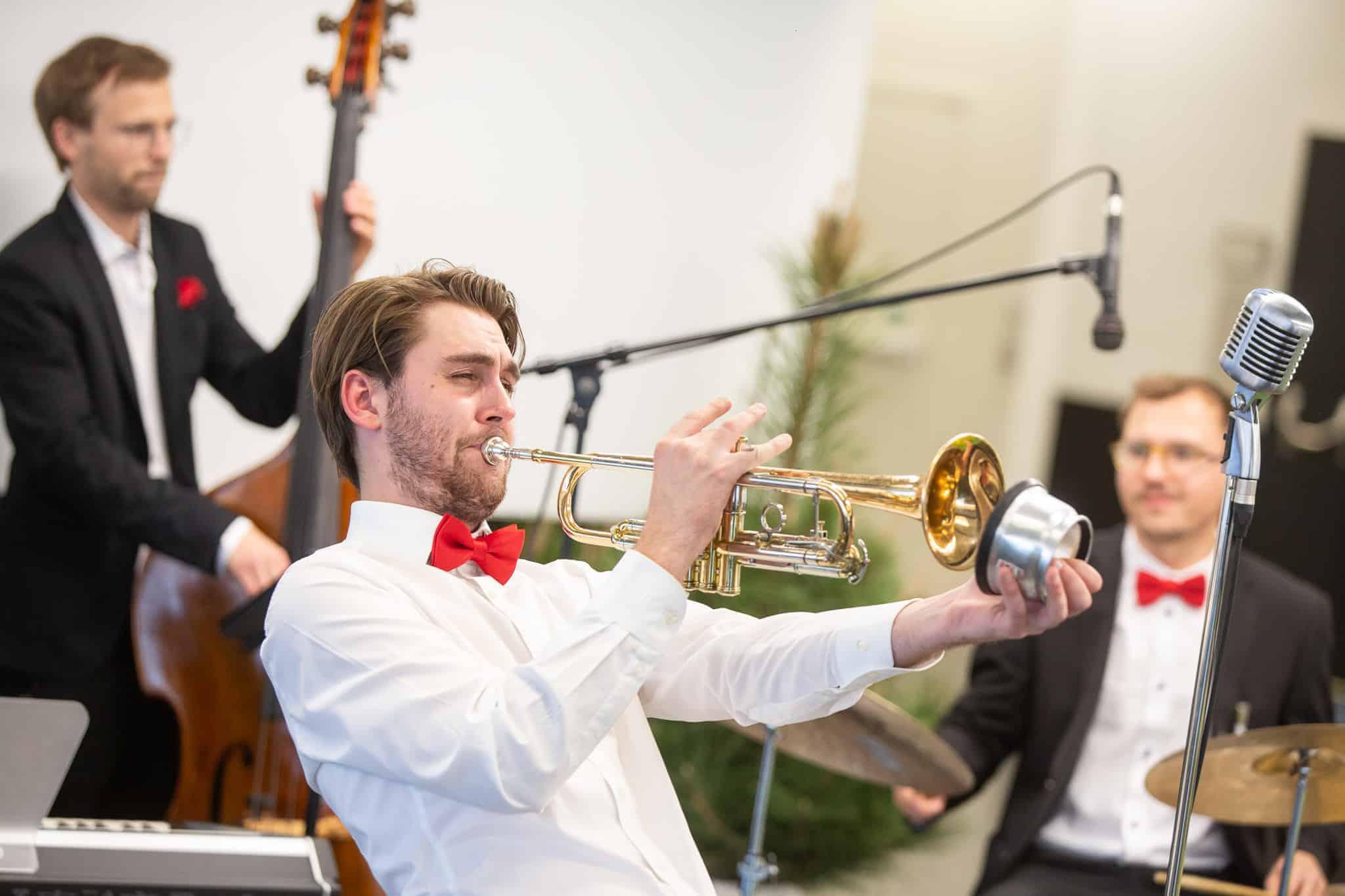 Jazzband für Hochzeit, Firmenfeier, Weihnachtsfeier