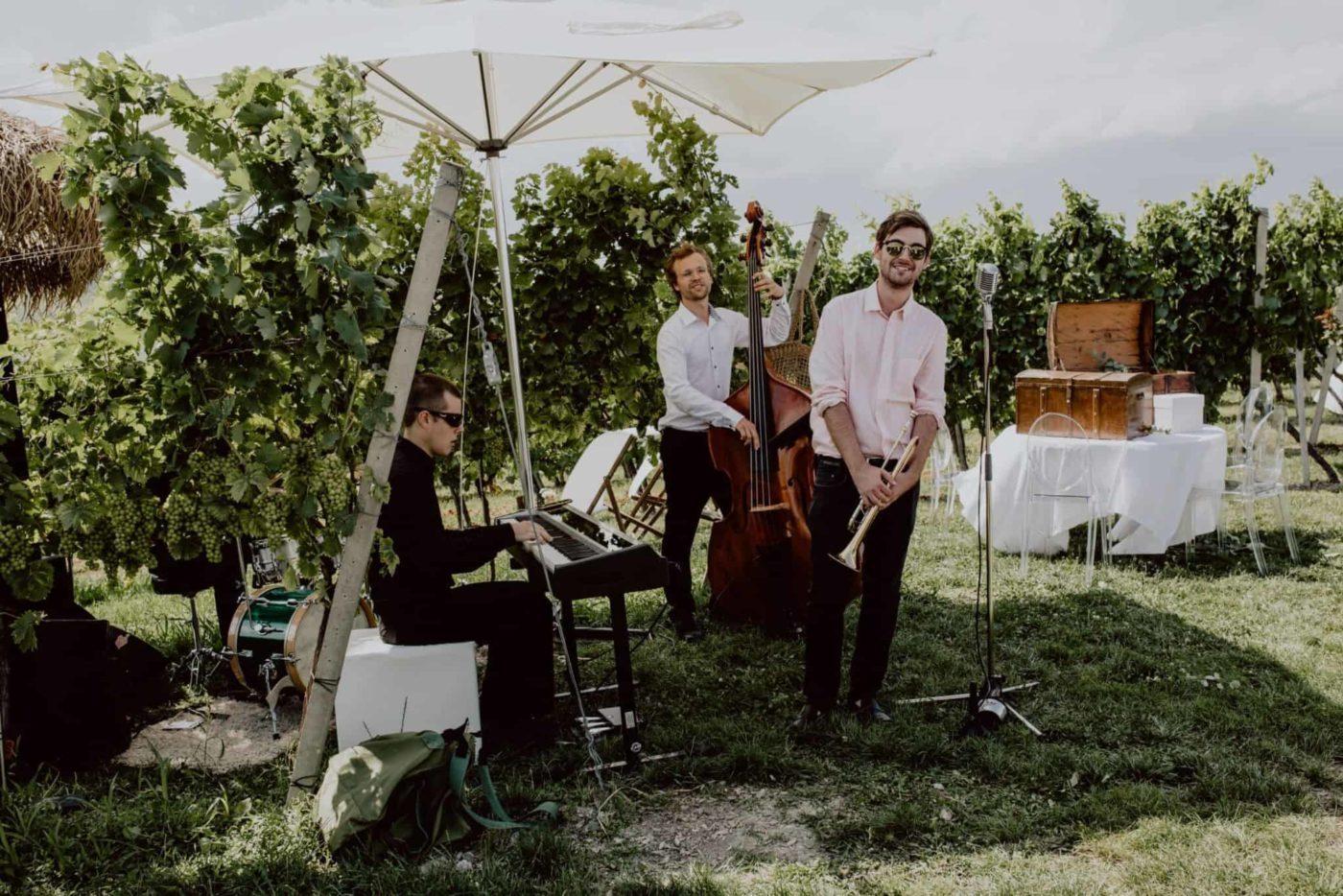 Jazz in den Weinbergen