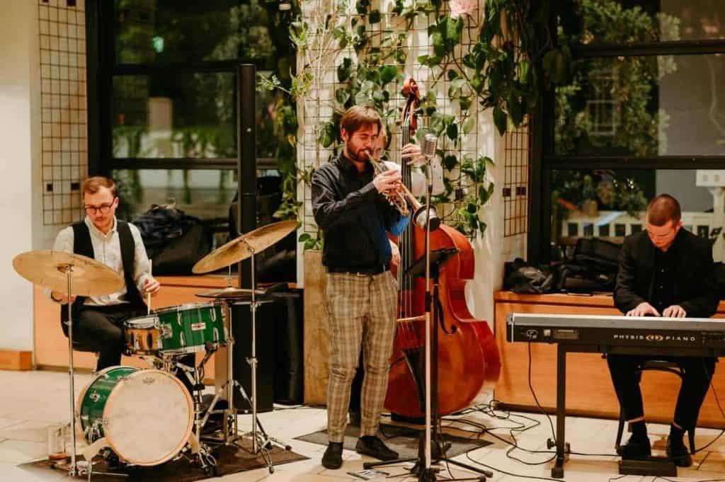 Live-Band & Jazz-Band auf einer Hochzeit in Graz