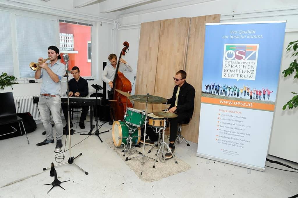 All Jazz Ambassadors bei einer Firmenfeier in der Steiermark