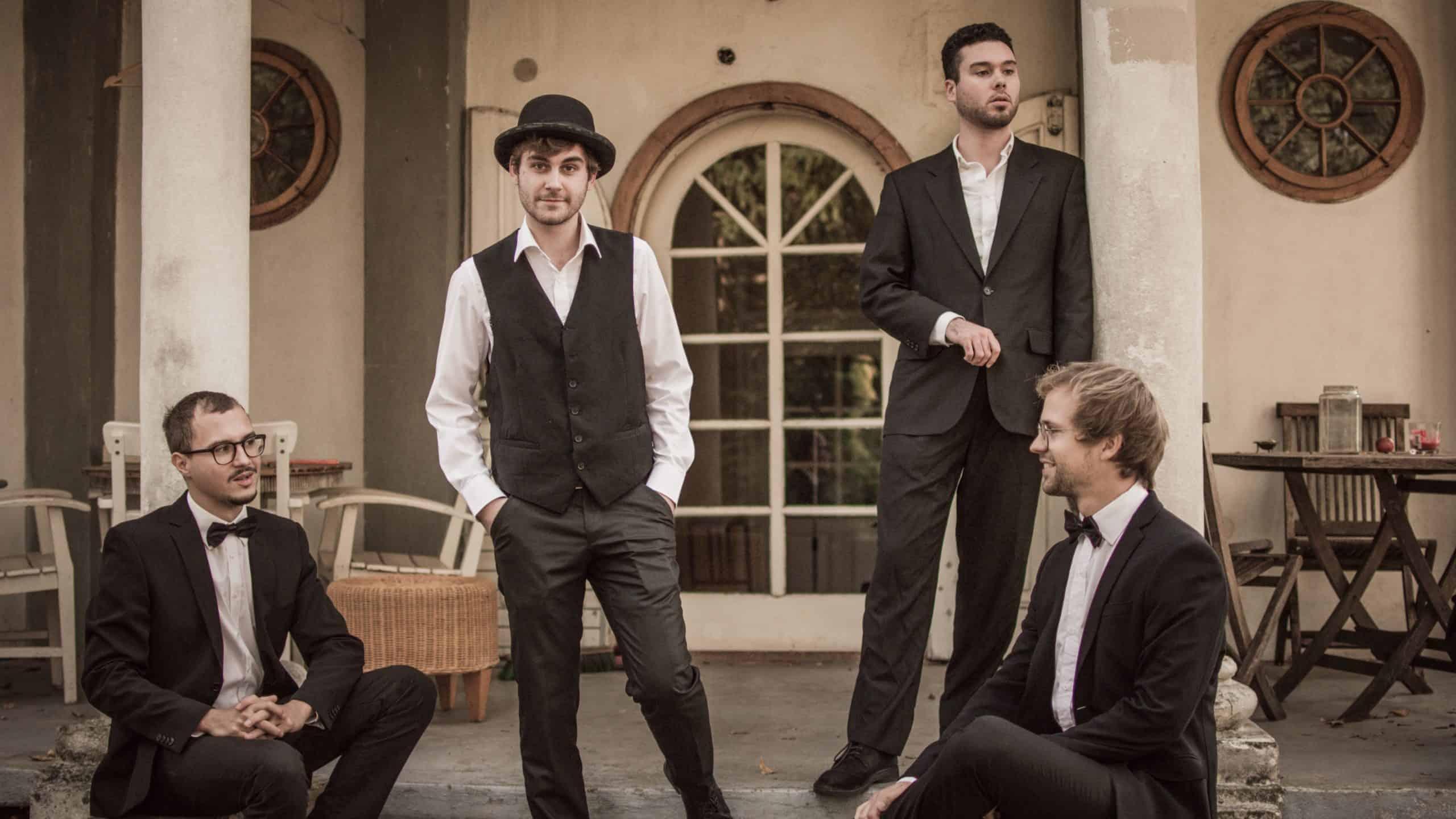 Gruppenbild der All Jazz Ambassadors aus Graz, Steiermark
