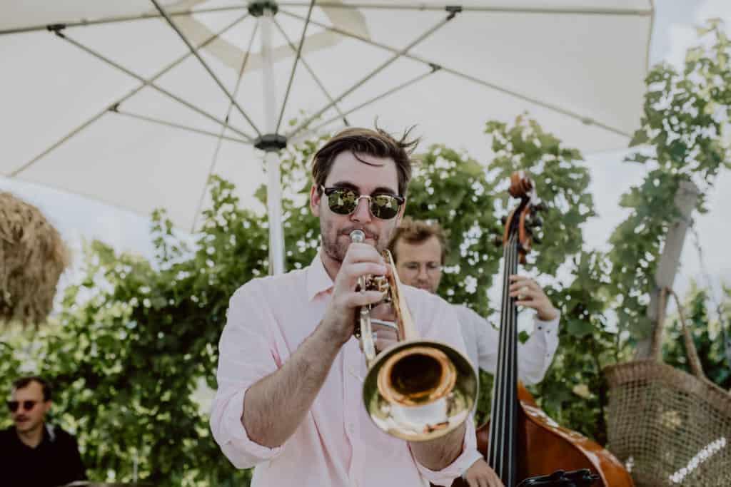 wunderschöne Hochzeitsfeier in der Südsteiermark mit den All Jazz Ambassadors
