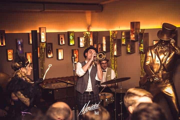 All Jazz Ambassadors bei einer Swing & Jazz Veranstaltung live im Monkeys Graz