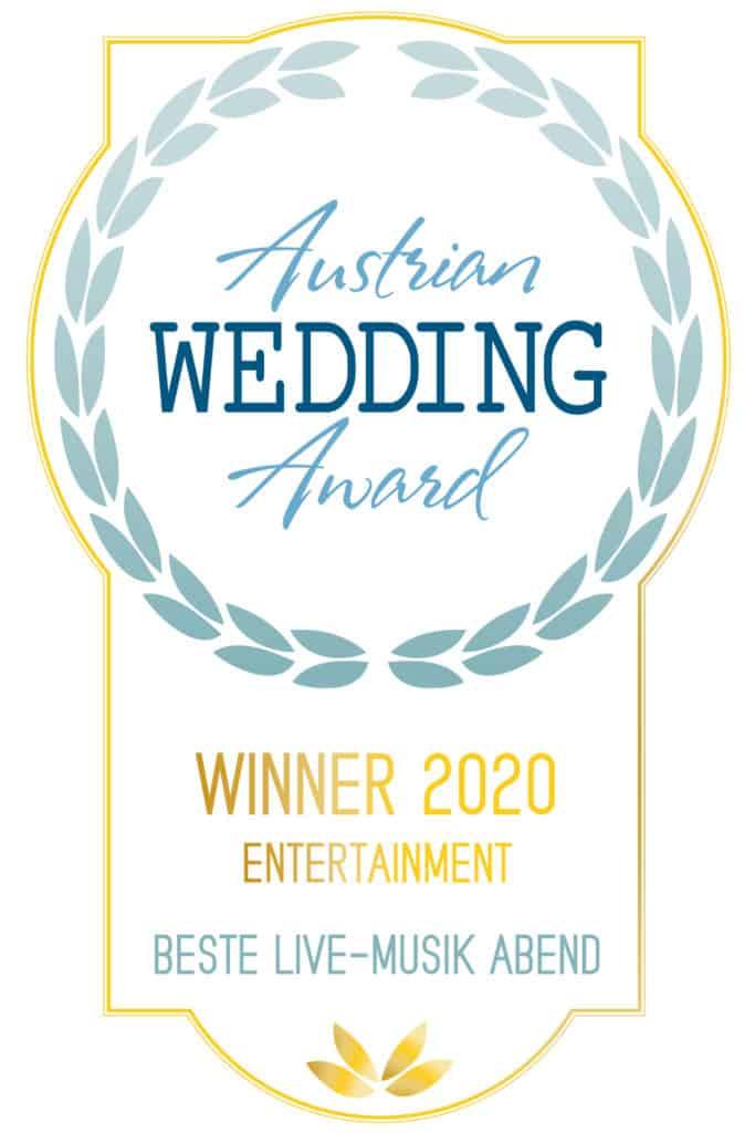 Die All Jazz Ambassadors sind die Gewinner des Austrian Wedding Award 2020 in der Kategorie Entertainment-Livemusik am Abend