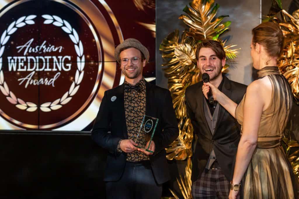 Die All Jazz Ambassadors beim Austrian Wedding Award 2020